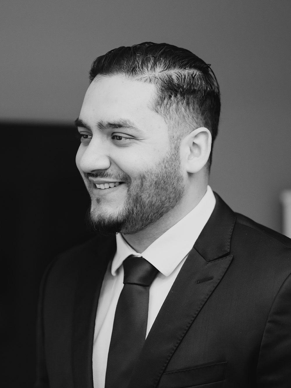 Dr Adeel Ali smiling